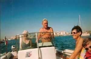 2000 - LE CAP d'AGDE ---- Louisette ANDRE Jean ANDRE