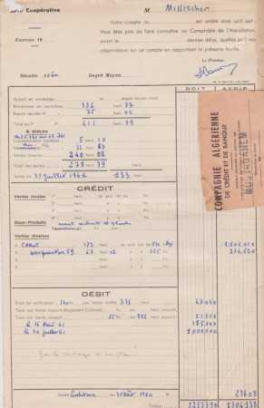 1961 - Compts MILLISCHER