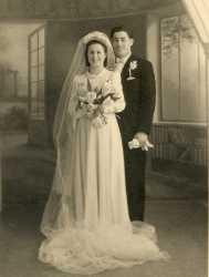 Mariage de  Roger LUBRANO  et Liliane ASSANTO (fille de Mathilde et Lucien ASSANTO)