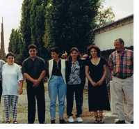 ATONATTY Roger  et ses 5 enfants issus du 1er mariage