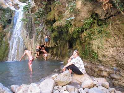 Cascade de TARAGHNIA