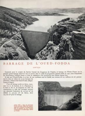 Photo-titre pour cet album: Le Barrage d'Oued Fodda