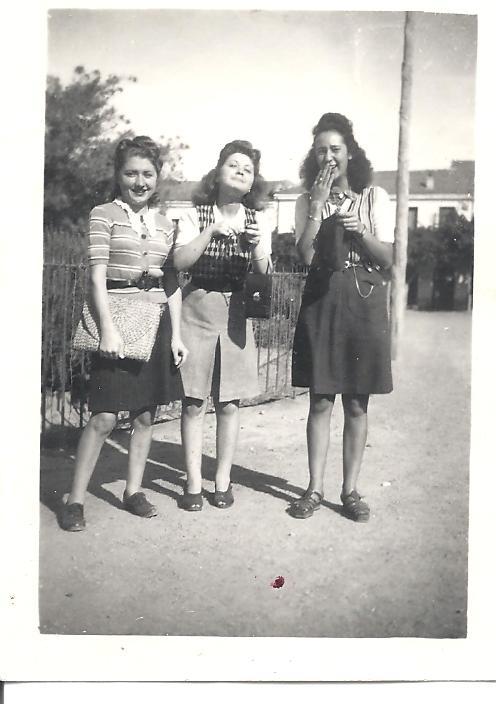 Lucienne BERNICOLA Josette BERNICOLA et Paulette LAMARQUE
