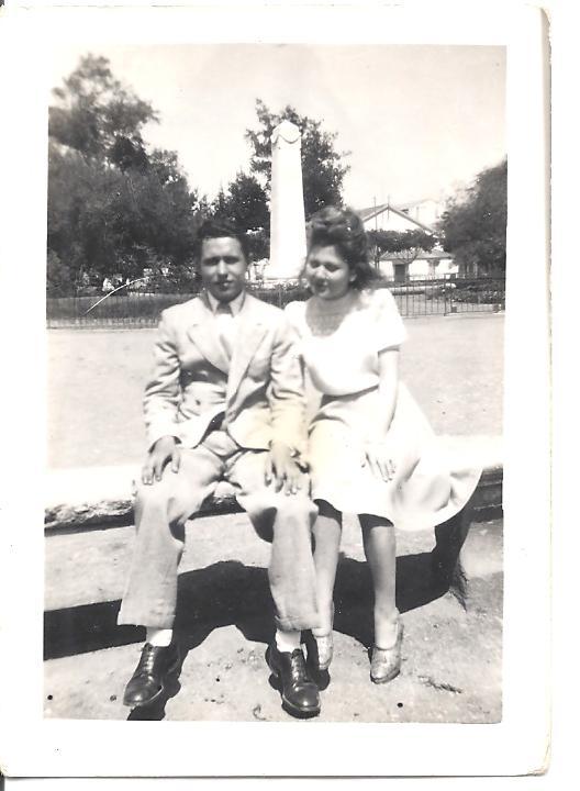 Roger BERNICOLA et sa soeur Josette BERNICOLA