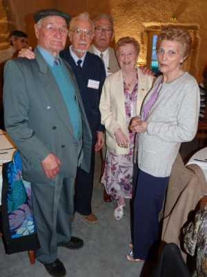 Dr PARENTI  Georges PEREZ  Pierre GIMENEZ  Liliane LUBRANO  Olga PEREZ