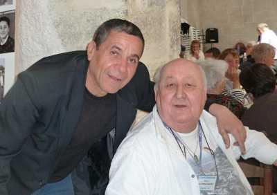 Ahmed METCHAT et son copain Marc LANGENDORF
