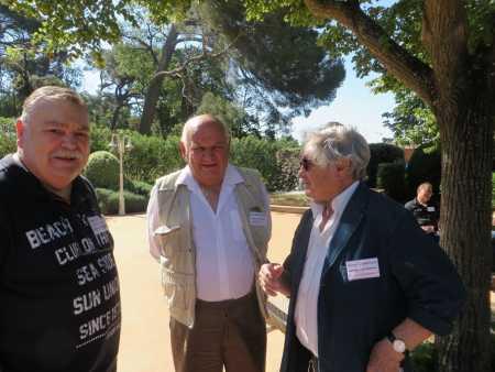 Georges CARTEAUX Lucien PETROWSKY Gilbert ALBENTOSA