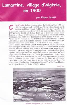 Photo-titre pour cet album: Histoire de LAMARTINE