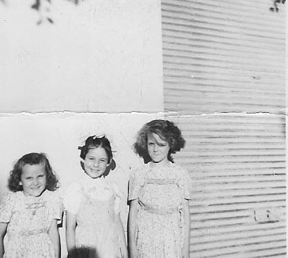 1950 Viviane BREAUD Christiane CAMILLERI Jacqueline BREAUD