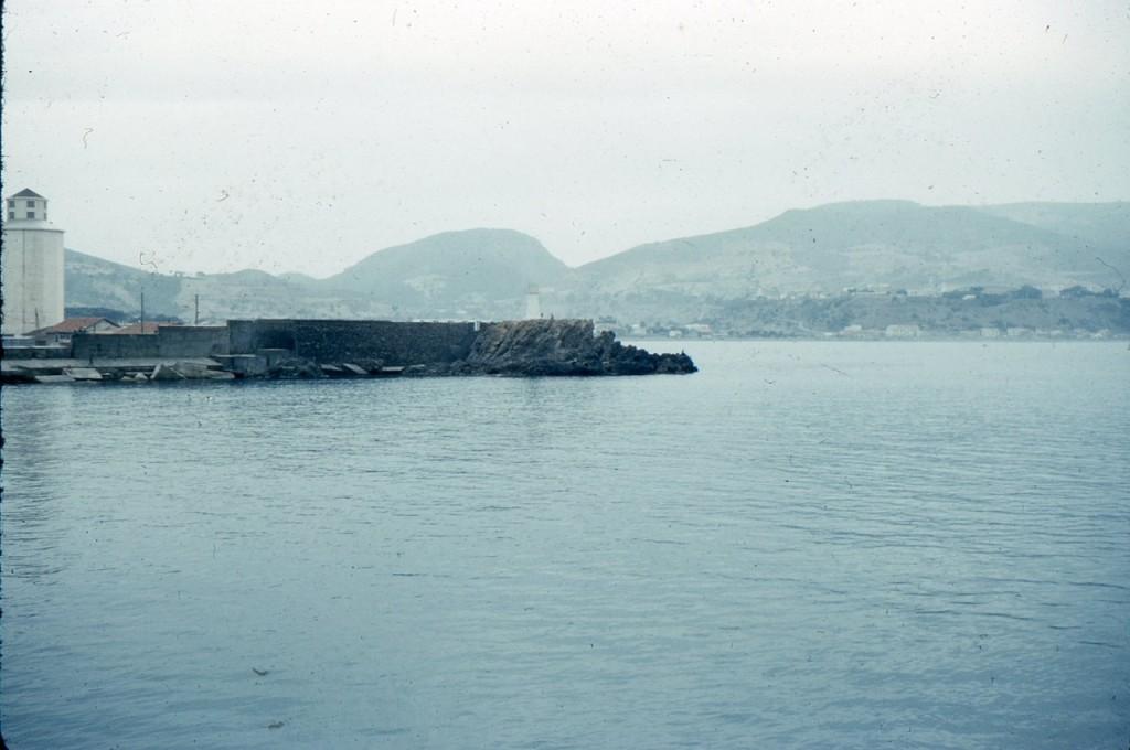 le port de TENES vu du brise-lames