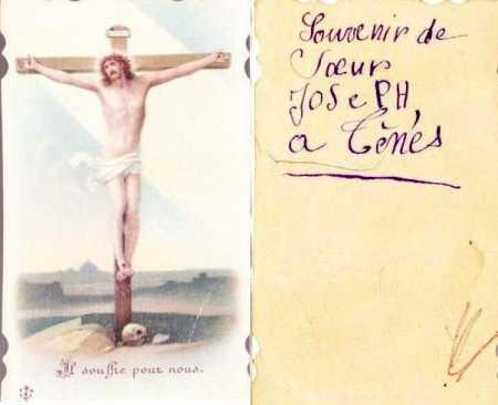 Collection de cartes de Communion de Charlette AMBROSINO