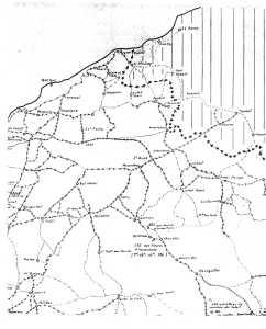 Cate Militaire de MOSTAGANEM au GUELTA Juin 1960