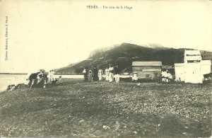 1910 Carte postale de la Plage de TENES