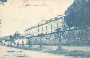 TENES en 1910 La Caserne Lavarande