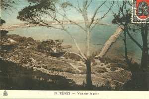 TENES - Le Port (Recto)