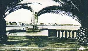 le Port de TENES vue de l'avenue des Anglais