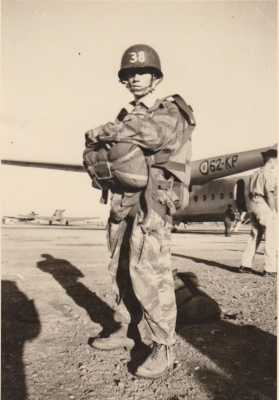 Erick CATHERINE 1er Saut en parachute