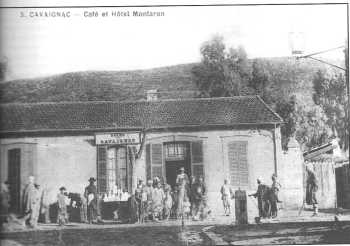 CAVAIGNAC L'HOTEL MONTARON