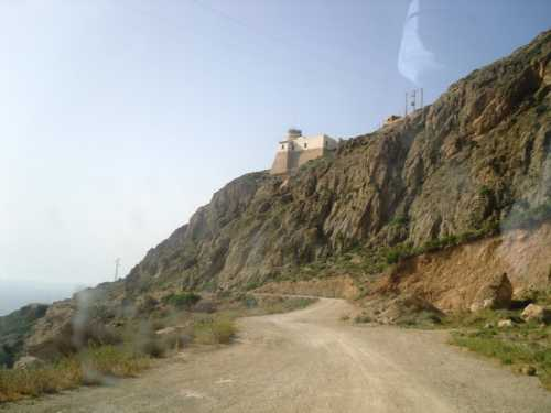 Sidi Merouane en allant vers le Phare