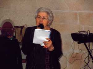 LA VIERE 2012 Le discours de remerciements  d'Yvette CERVERA