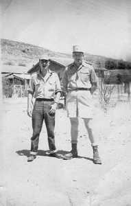 SAS de CAVAIGNAC Sergent Chef GAY et Georges CERVERA ----  la SAS de CAVAIGNAC