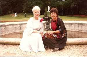 Pierrette et  Janine CHAFFORT