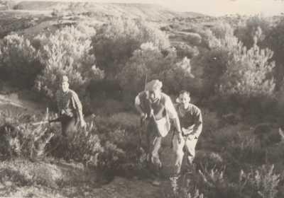 TENES 1963 / 1964 Chasse aux Sangliers dans le BISSA ---- photo de Serge MARTENOT