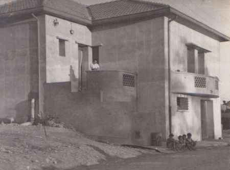 CHASSERIAU - 1958 La maison de Paul CARTEAUX en fin de travaux
