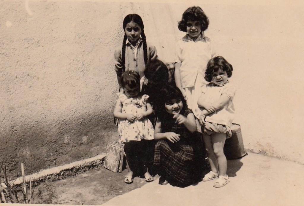 Saliha CHOUCHAOUI et les filles de la famille MOKRANE