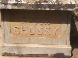 Epoux CHOSSY