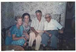 Famille Cixous ---- Liliane LUBRANO Claire CIXOUS Roger LUBRANO Joseph CIXOUS