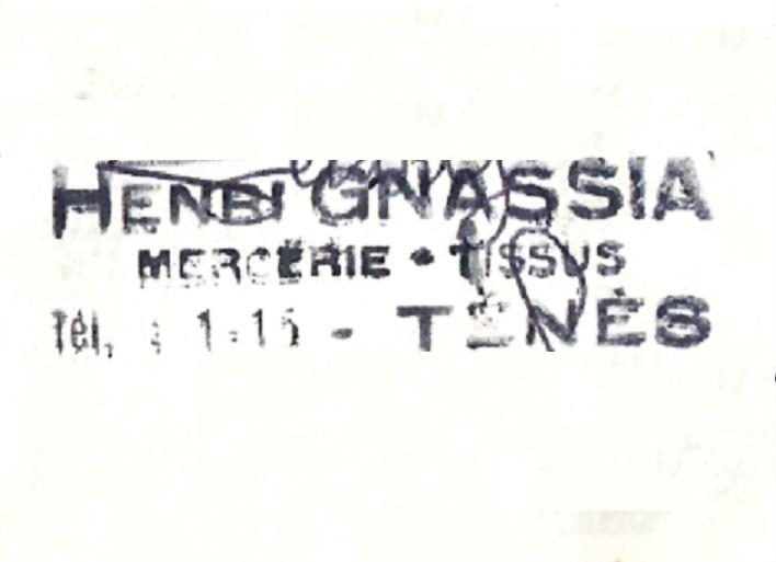 MERCERIE TISSUS GNASSIA