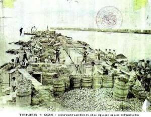 Photo-titre pour cet album: Construction du Port