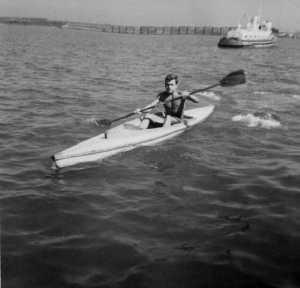 Jean COULIN - 1960/61 Cayak de Jean-Louis MARINI
