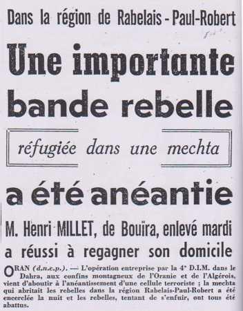 4 Septembre 1956  PAUL-ROBERT