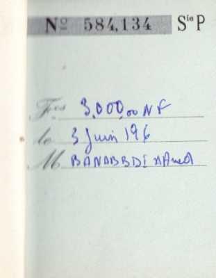 BANASSDI Hamed 1961