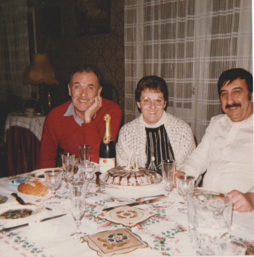 Gilbert CARRETERO Annie XICLUNA Loulou XICLUNA