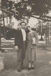 Octobre 1930 Voyage de Noces de Charles XICLUNA et Yvonne ORS