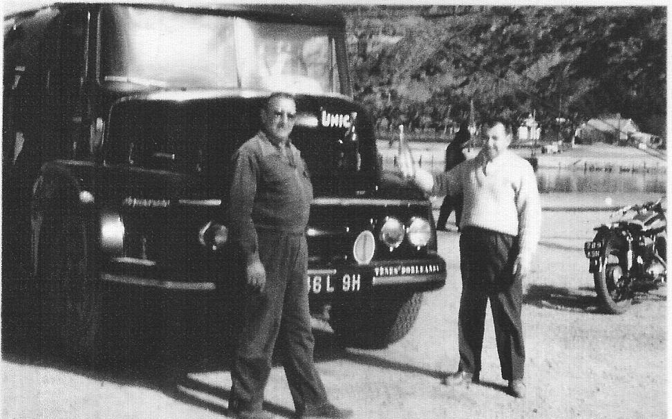 Charles XICLUNA Son Camion Jean Pierre BERGONZOLI