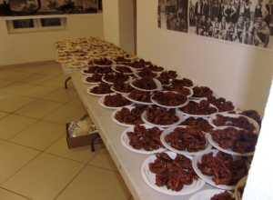 Le dessert MANTECAOS et ZALABIAS