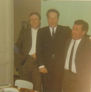 1971 - Mariage de Jacqueline MARCOT ---- Paulo MARCOT (de Dupleix) COLLIN (un ami de Fos) Claude DALIBON