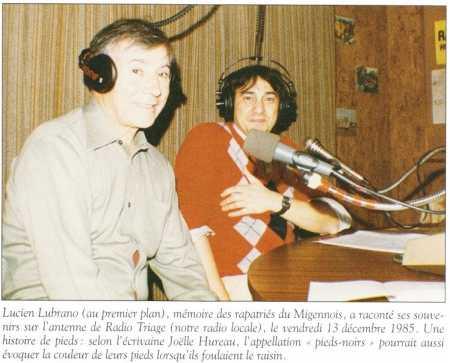 Lucien LUBRANO en 1985
