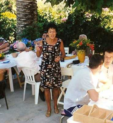 2000 - CAGNES sur MER ---- Denise CARRETERO fille de Charles XICLUNA et Yvonne ORS