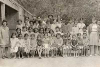 Ecole des filles Oued-Allala 1965