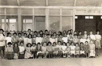 Ecole des filles Oued-Allala 1966
