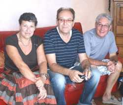 2010 ---- Annie DI MEGLIO Alain DI MEGLIO Gilbert LEVITA