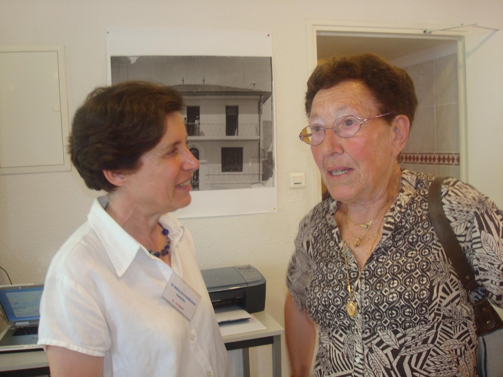 LA VIERE 2009 ---- Isabelle  DI MEGLIO-FARRUGIA et Lucienne DI MEGLIO