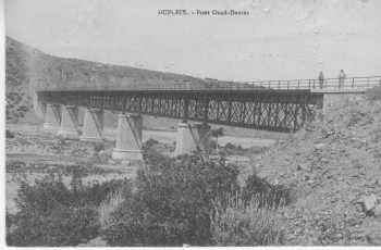 DUPLEIX Pont sur l'Oued Damous