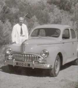 Juillet 1951 ---- Le Docteur EBERT et sa 203