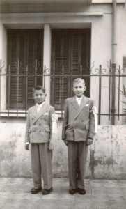 3 Juin 1951 renouvellement de communion ---- Doudou EBERT LAUZOL  (fils de l'Administrateur)